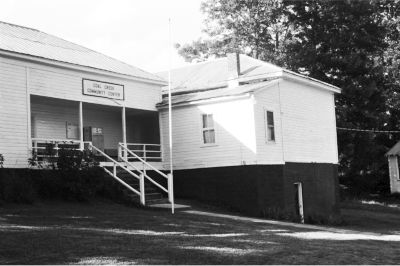 The Coal Creek Community Center where the Cooley Family Reunion was held. Photo by Susan M. Thigpen.