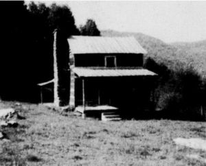 An old Blue Ridge Mountain homeplace.