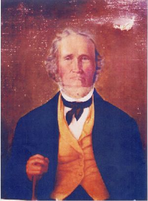 John Bell, Jr., Born Nov. 17th 1793 - Died April 18th 1862. Photo curtesy of www.bellwitchcave.com.