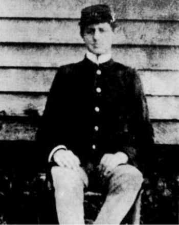 Dr. Walter H. Cobbs as cadet at V.P.I. in 1890's.