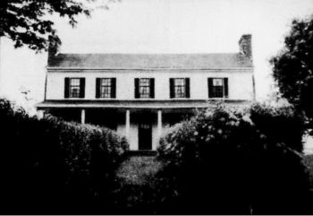 The Pathway Home - The old Robert Graham home, Locust Hill, located in Wythe County, Virginia. Front Cover photograph of June 1991 edition.