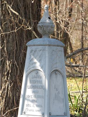 The Langhorne Family Monument
